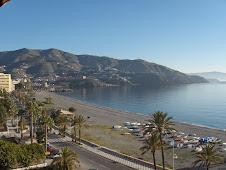 A beach in the Mediterranean Sea