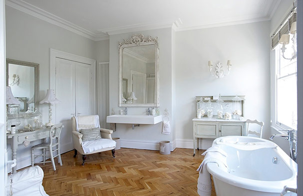 French inspired bathrooms for French bathroom decor