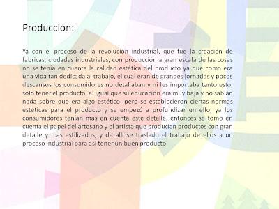 La mejor historia del arte procesos de producci n for Descripcion del proceso de produccion