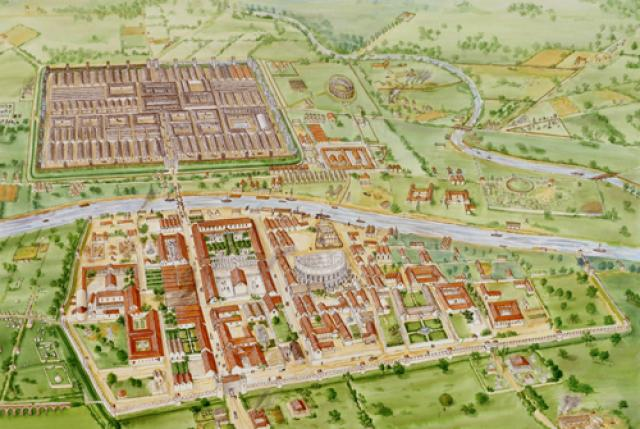 Como se vive en...ad  romani urbem  Eboracum