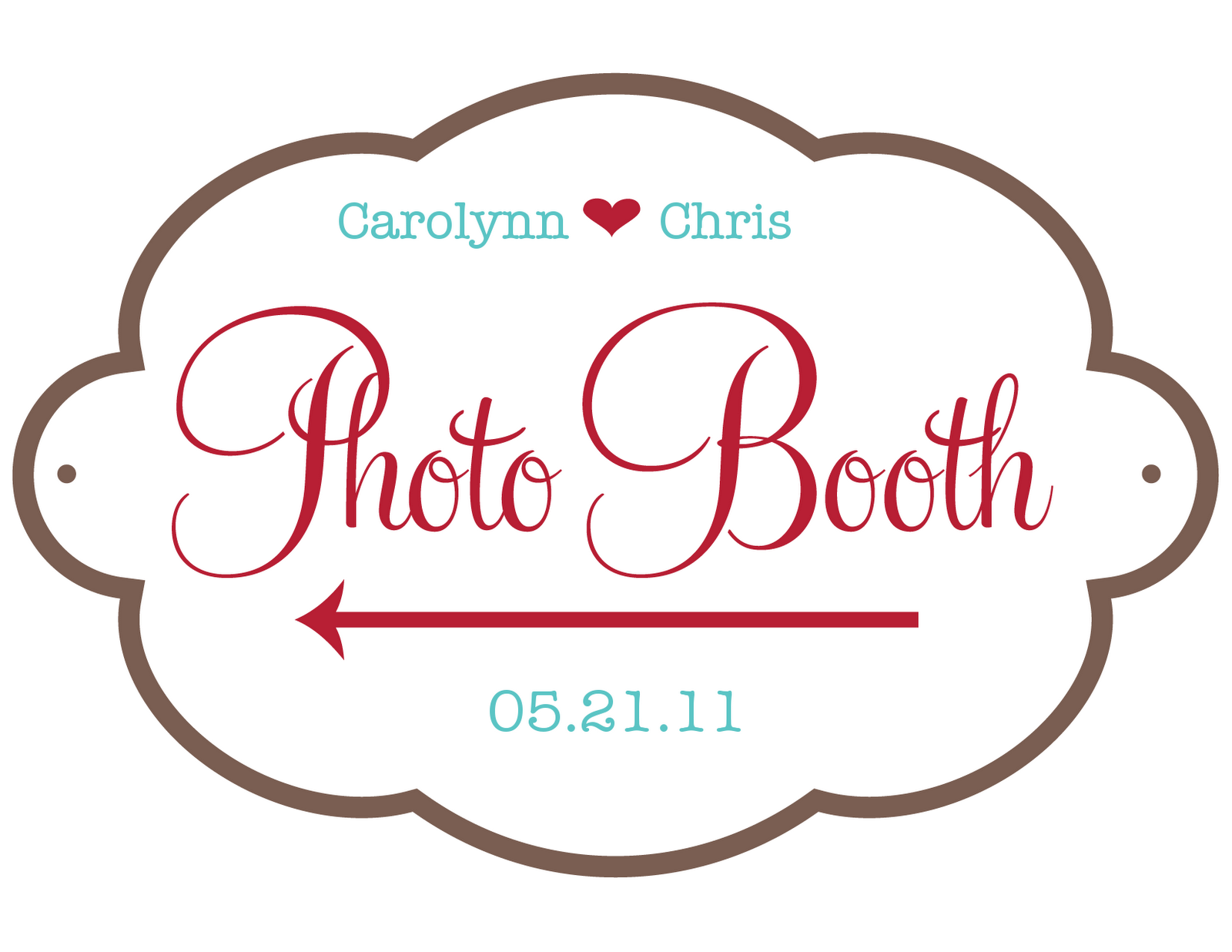 Chris and carolynn newlyweds free wedding graphics and templates for Wedding signs templates