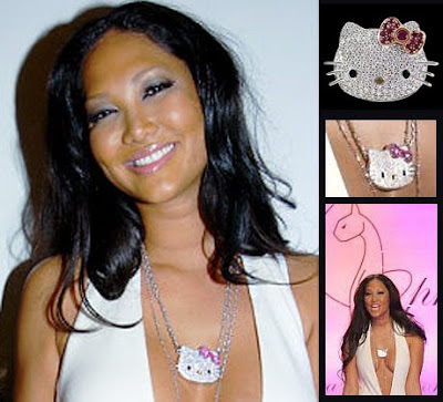 Celebrities say hello kitty ajurette magablog paris and rihanna are few among other celebrity clients who love kimora lee simmons for hello kitty mozeypictures Gallery