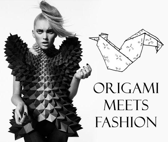 Origami Inspired Fashion Designers