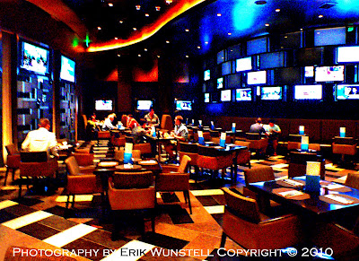 Interior Aria Skybox Sports Cafe