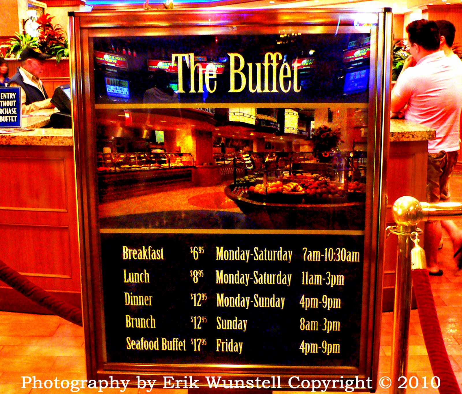 vegas breakfast buffet prices