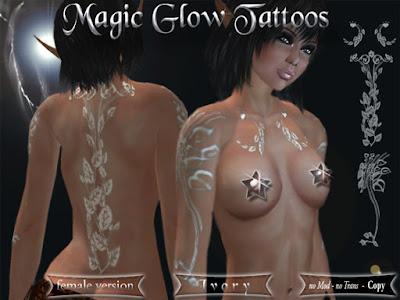 Labels: Magic Glow Tattoos
