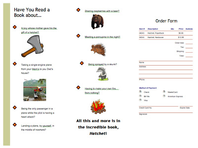 Book reports on the book hatchet