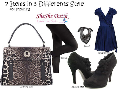7 Items for 3 Different Style