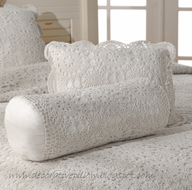 White Decorative Pillows For Bed : Decorative Pillow,Decorative Throw pillows: White decorative pillows