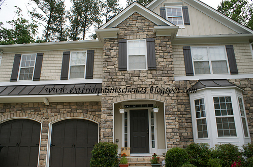 Exterior paint schemes exterior house colors - Best exterior paint colors combinations style ...
