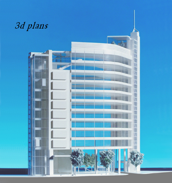 3d plansNew 3d plans for Home office building designs