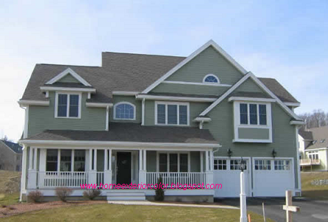 Decent home exterior design 2015 exterior paint colors - Best exterior paint combinations model ...