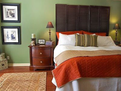 Bedroom Color on That Way The Orange Color Is Not Only Fun And Playful But Also Warm