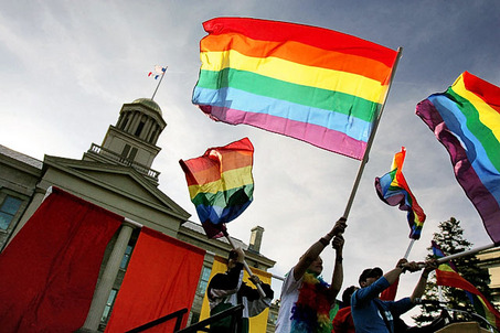 Iowa's haters got a slap in the face...The next step in banning gay marriage ...