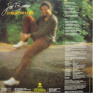 JOE BOURNE - It Must Be Love (LP K-Tel 1981)