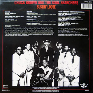 CHUCK BROWN & THE SOUL SEARCHERS - Bustin' Loose (LP Source Records 1979)