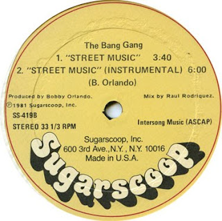 THE BANG GANG - Street Music (12