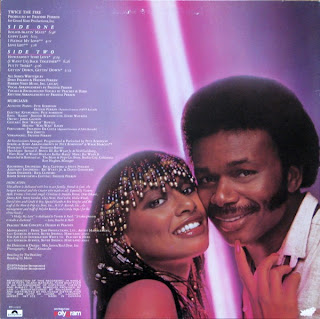 PEACHES & HERB - Twice The Fire (LP Polydor 1979)