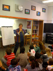 Ellen Levine mesmerizes third graders