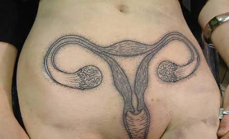 vagina tattoos. anatomically correct tattoos