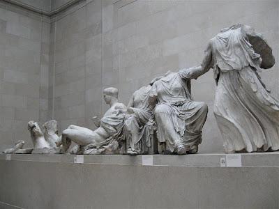 Partenón de Atenas en el British Museum