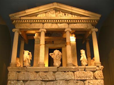 Templo de las Nereidas en el British Museum