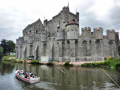 Castillo de Gravensteen de Gante