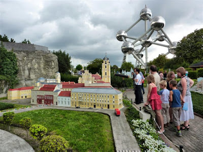 Parque Mini-Europa en Bruselas