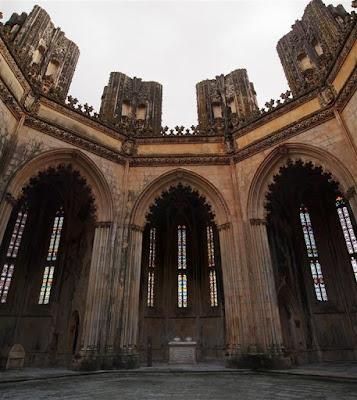 Monasterio de Batalha (capelas imperfeitas)