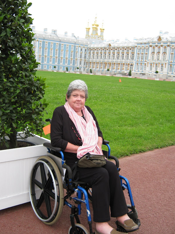 disabled person would not have been able to access the en suite shower  title=
