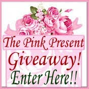 The Pink Present Holiday Giveaway has ended!!