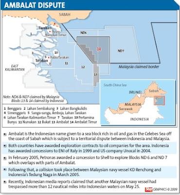 Teritorial Ambalat Indonesia Malaysia