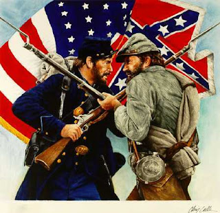 north vs south in the civil war