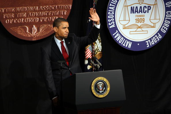 ... inclusion in everything from the President's historic NAACP address