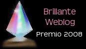 Premio Brillante Weblog 2008