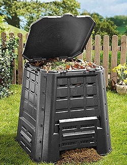 Ocio jard n lidl compostador de 360 litros for Construir jacuzzi casero