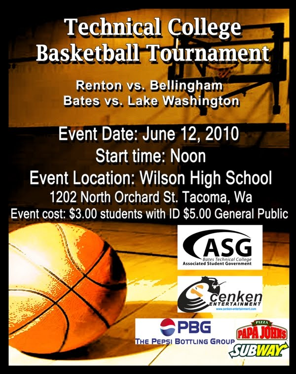 3 On 3 Basketball Tournament Flyer  You need to enable