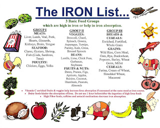 Iron Foods List Chemical Elements