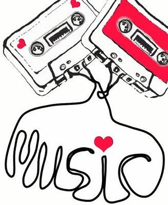 i love music. The music takes me through an