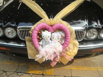 As Soon I Heard About Wedding Car Decoration The First Thought That Strikes My Head Is Funny And Noisy Decorations Will All Strings Of Tin