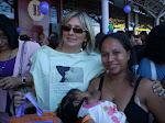 "Presidente da Amamen no ""Mil mães Amamentando às Margesn da Baía do Guajará"" Belém - Pa"