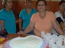 Marianela y su rica torta