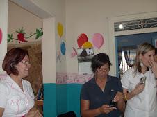 Del lado izquierdo  Nancy Sequera