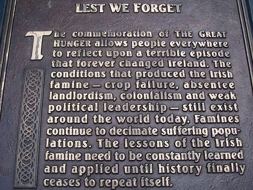 Kate McCulloch - Racism and the Irish Famine
