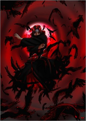 (mapa) humanos vc undeads 0.02 Flock_of_Crows___Itachi_by_pokefreak