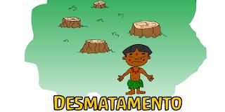 Desmatamento deixa Índio Triste