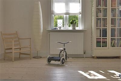 Triciclo na Sala