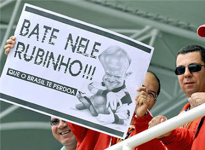Bate nele, Rubinho!