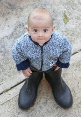 Bebê de Botas