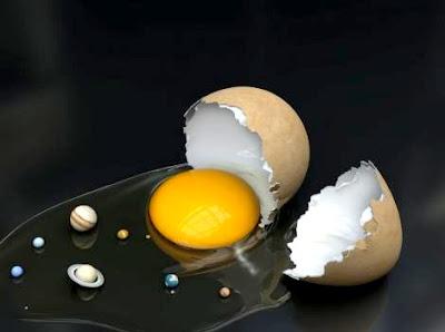 Sistema Solar + Ovo